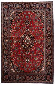 Keshan Alfombra 140X216 Oriental Hecha A Mano Rojo Oscuro/Marrón Oscuro (Lana, Persia/Irán)