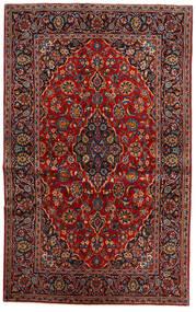 Keshan Alfombra 135X218 Oriental Hecha A Mano Rojo Oscuro/Marrón Oscuro (Lana, Persia/Irán)