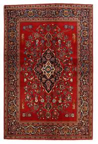 Keshan Alfombra 138X210 Oriental Hecha A Mano Óxido/Roja/Marrón Oscuro (Lana, Persia/Irán)