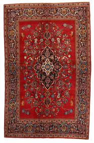 Keshan Alfombra 135X215 Oriental Hecha A Mano Rojo Oscuro/Óxido/Roja (Lana, Persia/Irán)