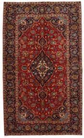 Keshan Alfombra 149X253 Oriental Hecha A Mano Rojo Oscuro/Marrón Oscuro (Lana, Persia/Irán)