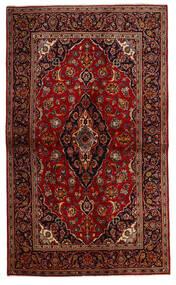Keshan Alfombra 137X230 Oriental Hecha A Mano Rojo Oscuro/Marrón Oscuro (Lana, Persia/Irán)