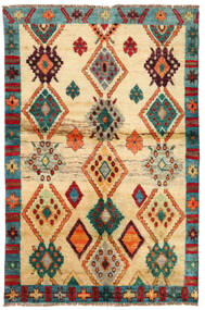 Moroccan Berber - Afghanistan Alfombra 114X183 Moderna Hecha A Mano Beige Oscuro/Beige (Lana, Afganistán)