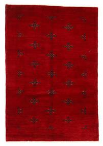 Huttan Alfombra 125X183 Oriental Hecha A Mano Rojo Oscuro (Lana, Pakistán)