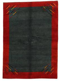 Gabbeh Indo Alfombra 171X239 Moderna Hecha A Mano Verde Oscuro/Óxido/Roja (Lana, India)