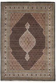 Tabriz Royal Alfombra 235X340 Oriental Hecha A Mano Gris Oscuro/Gris Claro ( India)