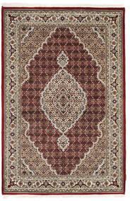 Tabriz Royal Alfombra 123X185 Oriental Hecha A Mano Gris Claro/Marrón Oscuro ( India)