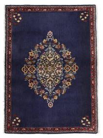 Keshan Alfombra 68X96 Oriental Hecha A Mano Púrpura Oscuro/Marrón Oscuro (Lana, Persia/Irán)