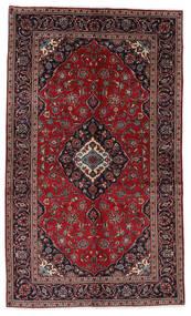 Keshan Alfombra 148X248 Oriental Hecha A Mano Rojo Oscuro/Gris Oscuro (Lana, Persia/Irán)