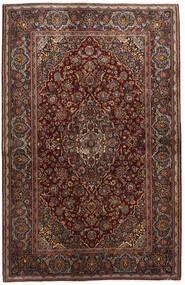 Keshan Alfombra 136X210 Oriental Hecha A Mano Rojo Oscuro/Marrón Oscuro (Lana, Persia/Irán)