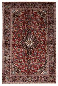 Keshan Alfombra 140X212 Oriental Hecha A Mano Rojo Oscuro/Marrón Oscuro (Lana, Persia/Irán)