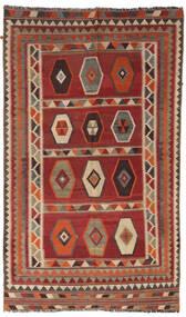 Kilim Vintage Alfombra 133X232 Oriental Tejida A Mano Rojo Oscuro/Marrón Claro/Marrón Oscuro (Lana, Persia/Irán)