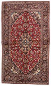Keshan Alfombra 138X239 Oriental Hecha A Mano Rojo Oscuro/Marrón Oscuro (Lana, Persia/Irán)