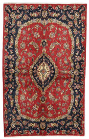 Keshan Alfombra 135X216 Oriental Hecha A Mano Rojo Oscuro/Azul Oscuro (Lana, Persia/Irán)
