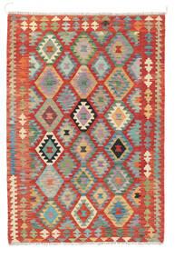 Kilim Afghan Old Style Alfombra 122X178 Oriental Tejida A Mano Óxido/Roja (Lana, Afganistán)