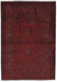 Afghan Khal Mohammadi Alfombra 105X150 Oriental Hecha A Mano Rojo Oscuro/Negro (Lana, Afganistán)
