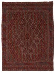 Kilim Golbarjasta Alfombra 212X280 Oriental Tejida A Mano Negro (Lana, Afganistán)
