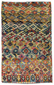 Moroccan Berber - Afghanistan Alfombra 117X182 Moderna Hecha A Mano Gris Oscuro/Gris Claro (Lana, Afganistán)