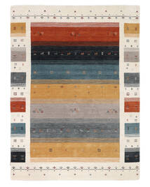 Loribaf Loom Designer - Multi Alfombra 160X230 Moderna Negro/Blanco/Crema (Lana, India)