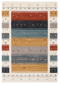 Loribaf Loom Designer - Multi Alfombra 120X180 Moderna Beige/Marrón Oscuro (Lana, India)