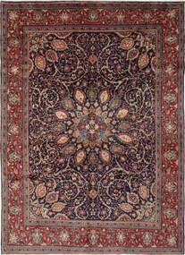 Mahal Alfombra 270X364 Oriental Hecha A Mano Negro/Marrón Oscuro Grande (Lana, Persia/Irán)