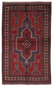 Belouch Alfombra 145X240 Oriental Hecha A Mano Negro/Rojo Oscuro (Lana, Afganistán)