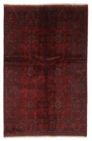 Afghan Khal Mohammadi Alfombra 128X195 Oriental Hecha A Mano Negro/Beige (Lana, Afganistán)
