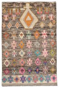 Moroccan Berber - Afghanistan Alfombra 118X180 Moderna Hecha A Mano Marrón Oscuro (Lana, Afganistán)