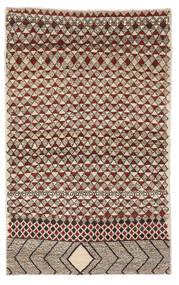 Moroccan Berber - Afghanistan Alfombra 118X190 Moderna Hecha A Mano Marrón Oscuro/Negro (Lana, Afganistán)