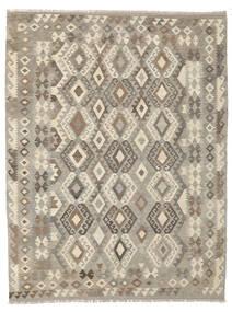 Kilim Afghan Old Style Alfombra 180X243 Oriental Tejida A Mano Gris Oscuro/Marrón Oscuro (Lana, Afganistán)