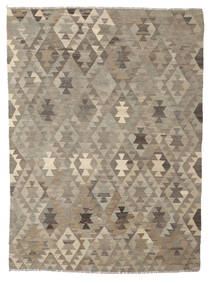 Kilim Afghan Old Style Alfombra 170X230 Oriental Tejida A Mano Marrón Oscuro/Marrón (Lana, Afganistán)