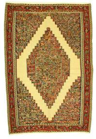 Kilim Senneh Alfombra 198X292 Oriental Tejida A Mano (Lana, Persia/Irán)