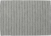 Kilim Long Stitch - Negro / Gris