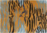 Love Tiger - naranja / Gris