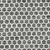 Kilim Honey Comb - Negro / Gris